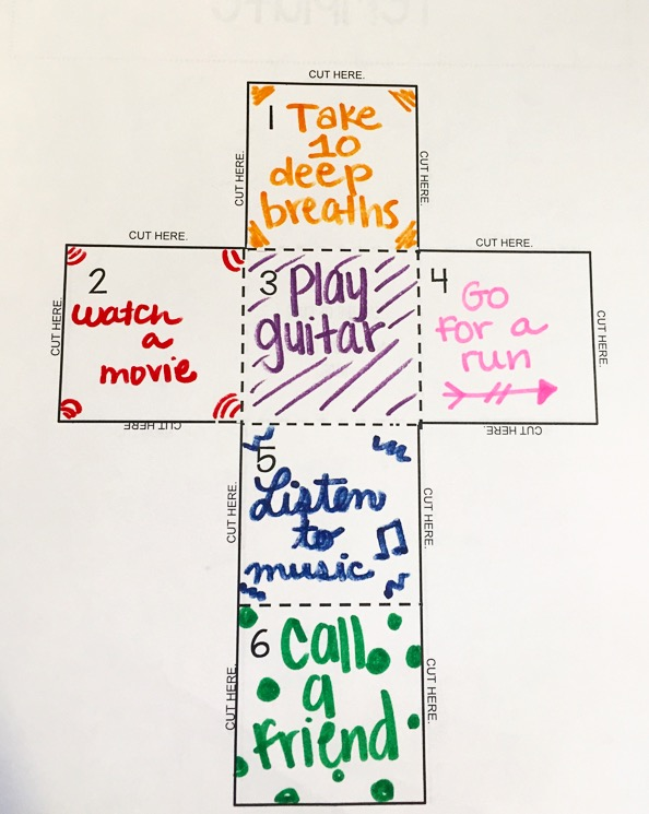 Coping Skills Cube Lesson